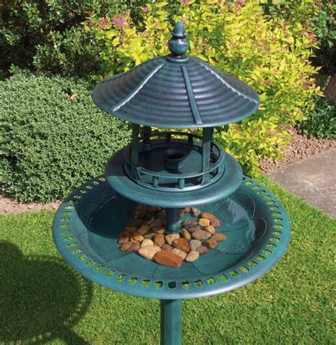 kingfisher bb01 ornamental bird bath and table friendly