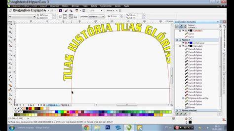 criar pattern corel draw tutorial como fazer texto em curva no corel draw youtube