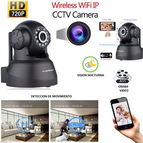 camara de videovigilancia inalambrica camara ip wifi inalambrica hd cctv videovigilancia c