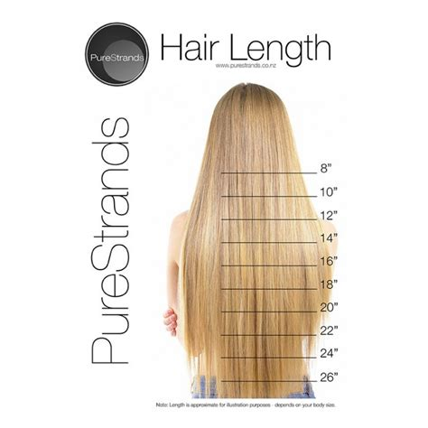 hair length chart purestrands tape in hair extensions quick easy