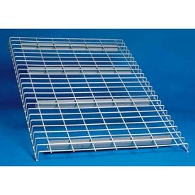 wire decking for pallet racks pallet rack accessories at globalindustrial com