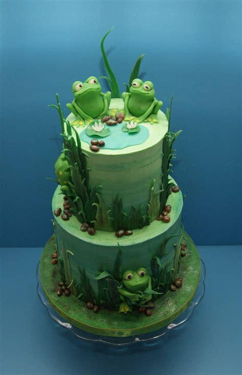 froggy birthday cake cakecentralcom