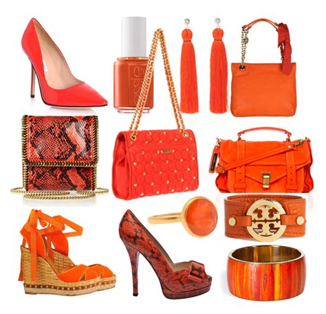 8 Great Orange Accessories by Orange Accessories On The Hunt