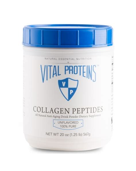 Collagen Peptides Detox by Collagen Peptides Pasture Raised 1 25 Lb Get Better