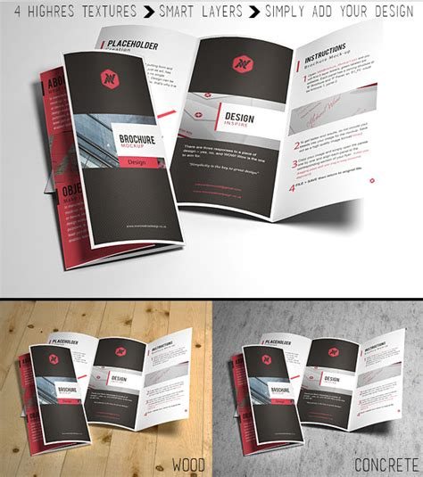 Free Up by 20 Free Catalog Brochure Mockup Templates In Psd