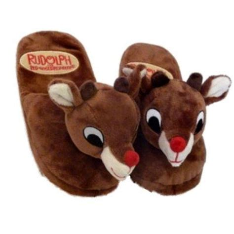 rudolph slippers 1000 images about rudolph the nose reindeer on
