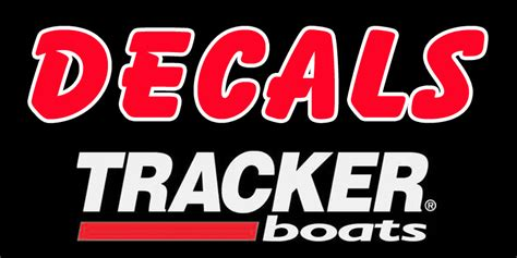 tracker boats decal tracker boat decals