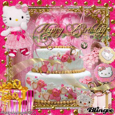 hello kitty pink picture 130481140 blingee com pink happy birthday hello kitty alwaysanangel69