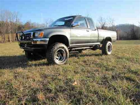 1992 Toyota Extended Cab Find Used 1992 Toyota Extended Cab Sr5 3 0 V6 Automatic