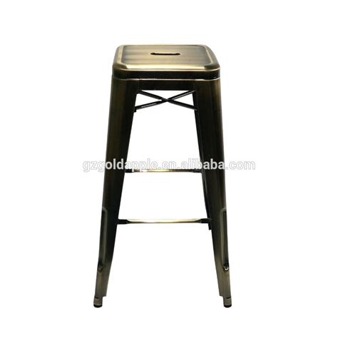 commercial metal bar stools hot sale china supplier industrial stackable commercial