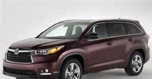 Where Is The Toyota Highlander Made Midsize Suv Toyota Highlander Photos Photos J D