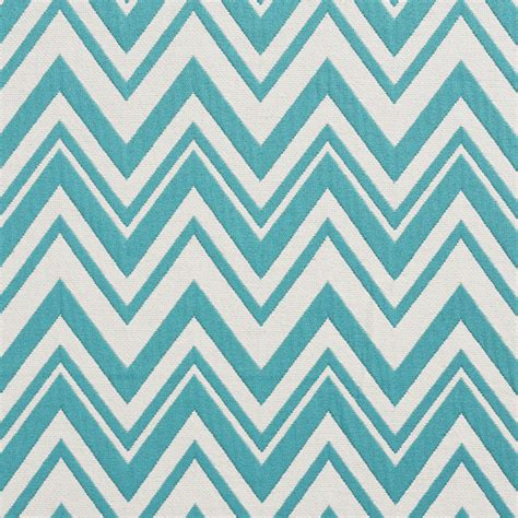 chevron pattern in fabric aqua and white chevron pattern woven brocade upholstery fabric