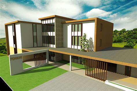 rendered house designs archicad artlantis rendered house design bedroom designs