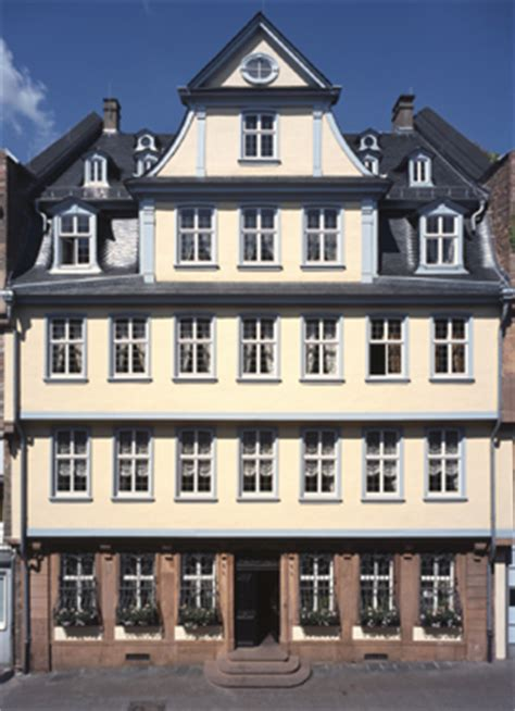 Goethe Haus Goethehaus Frankfurt