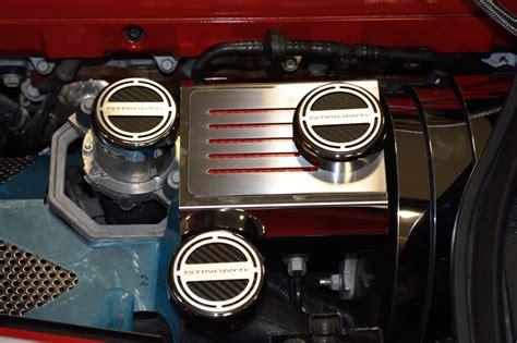 corvette manual fluid cap covers choose color chevymall