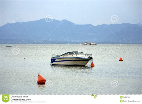 boat on buoy boat and buoy royalty free stock images image 14237659