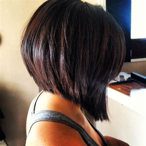 cutting a stacked angled bob hair cuts styles on pinterest faux hawk haircuts