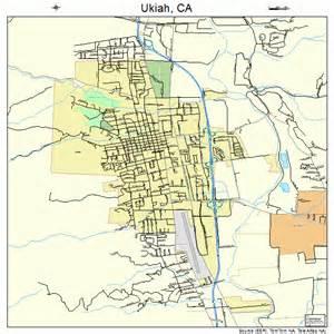 ukiah california map 0681134