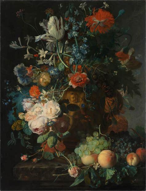 Vase Of Flowers Jan Davidsz De Heem Rijksmuseum Dutch Flowers 17th Century Floral Splendour