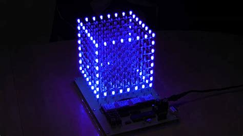 Tv Led Di Padang led cube 8x8x8