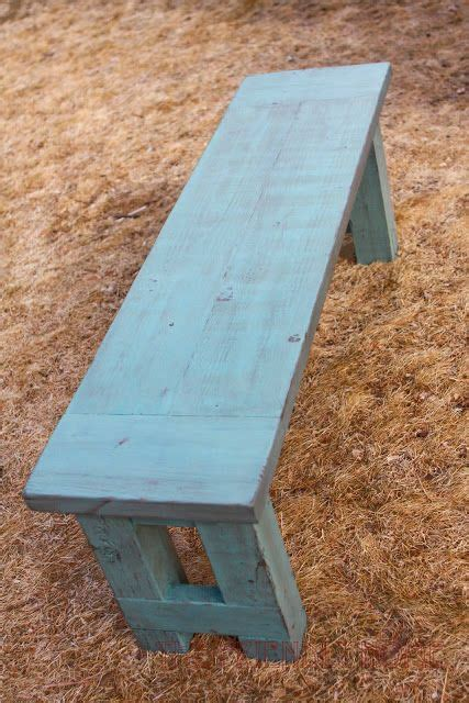 4x4 bench build a bench for kitchen table would be a great way to