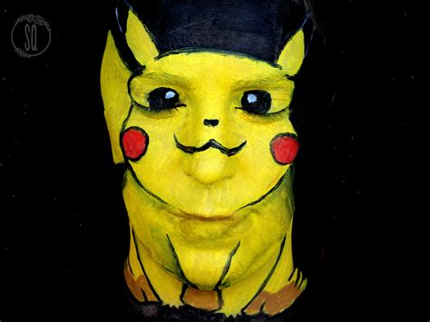 Pikachu Yellow Headed Our Way by Pikachu Paint Makeup Tutorial Quir 243 S