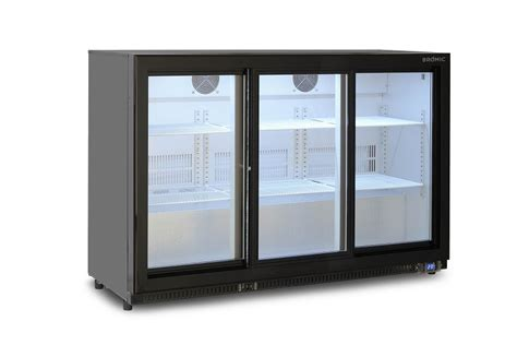 Modena Glass Door Counter Chiller 2 Pintu Cg 2130 bromic back bar sliding three door display chiller 307l bb0330gds ctpl