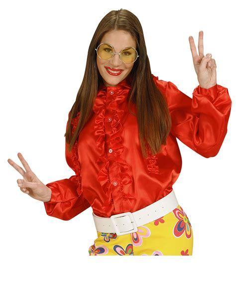 camicia con volant camicia rossa con volant donna costumi adulti e vestiti