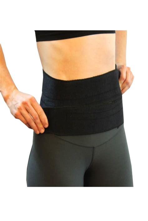 mombod fitness post natal fitsplint  black  recore