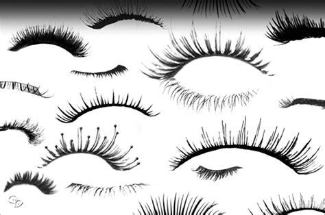 templates brushes photoshop 175 eye and eyelash photoshop brushes free vector eps