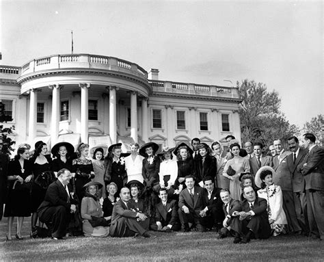 Roosevelt S White House by Entertaining The Troops For America Performers