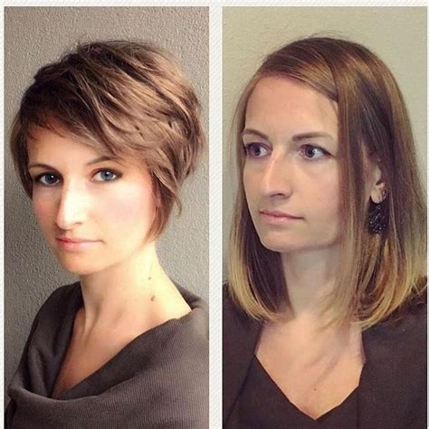 haircut for long hair to short 15 ideas of haircuts for long noses