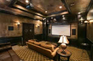 Home Depot Paint Interior Theatre Room Mediterranean Home Theater Other Metro