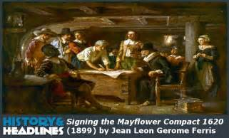 Cinema Cape Cod - history november 11 1620 mayflower compact signed