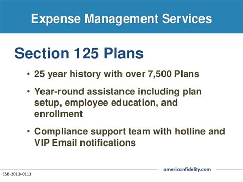 Section 125 Benefit Plan by C A Brokerage Services Presentation