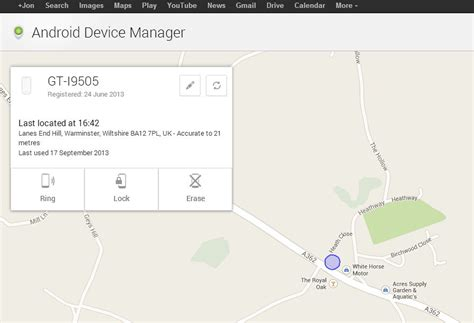 Android Device Manager by Android Device Manager Gadget Helpline