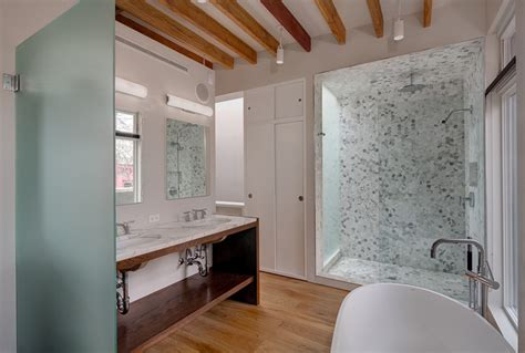 bathroom ceiling wood cladding wooden home