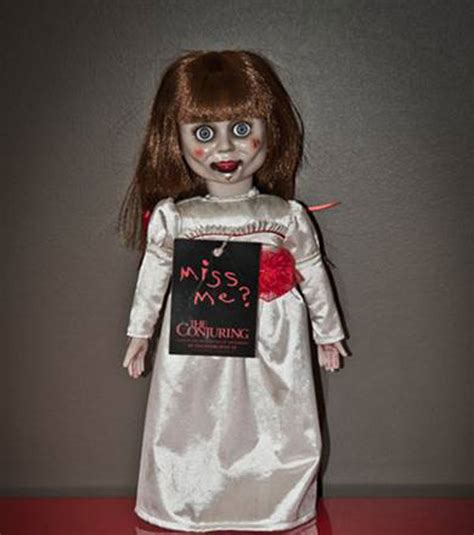 annabelle doll true facts giveaway win a copy of the conjuring and a creepy