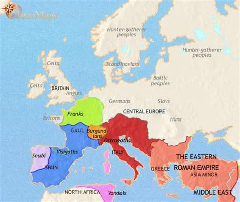 world map 500 ad european history 500 ce