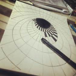 How To Make Illusions On Paper - best 25 optical illusions drawings ideas on