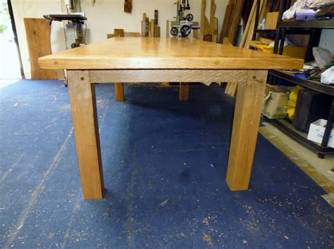 Handmade Oak Dining Table - for sale quercus furniture