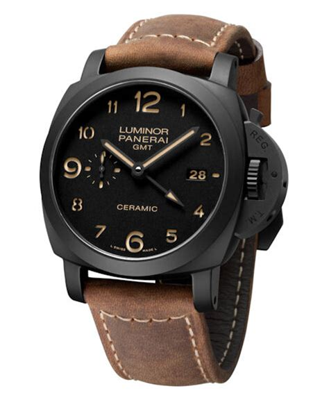 Jam Tangan Panerai Luminor 1950 3 Days Automatic replica panerai luminor 1950 3 days gmt automatic ceramica pam00441 review replica watches