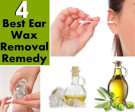 4 best ear wax removal remedy home remedies