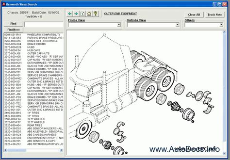 kenworth replacement parts kenworth spare parts catalog parts catalog order download