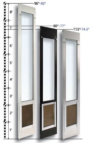 Patio Door With Doggie Door Sliding Glass Door Patio Pet Doors Or Panel Pet Doors Trendslidingdoors