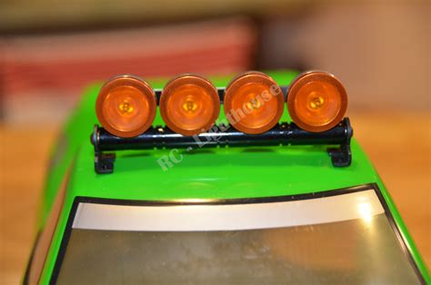 Rc Led Light Bar In Orange With Amber Lenses Rc Lighthouse Orange Led Light Bar