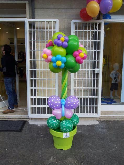 albero in vaso albero di palloncini in vaso con farfalle archi alberi