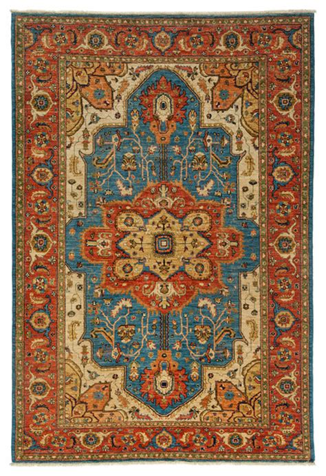 6x9 Wool Area Rugs Ziegler Wool Area Rug Royal 6x9 Traditional Area Rugs By Rugs