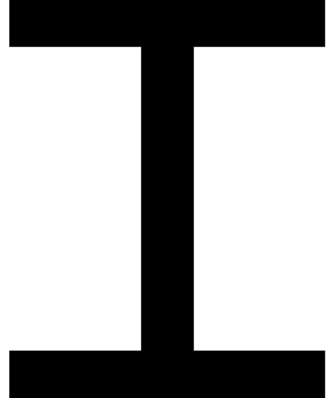 a i file latin capital letter i with crossbars svg wikimedia