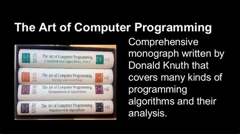 art of computer programming knuth donald knuth
